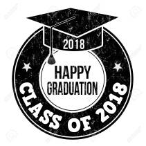 Class of 2018 stamp